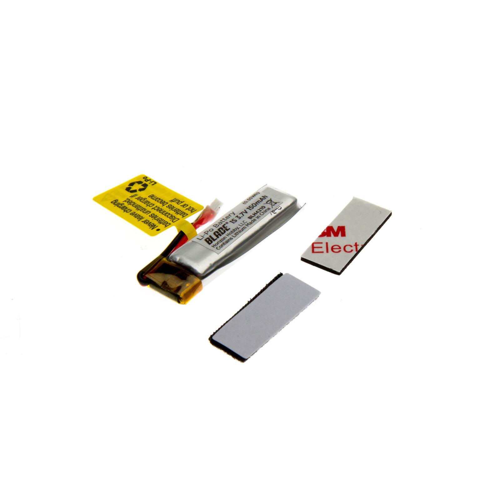 150mAh 1S 3.7V 45C LiPo Battery: PH 1.5 (Ultra Micro)