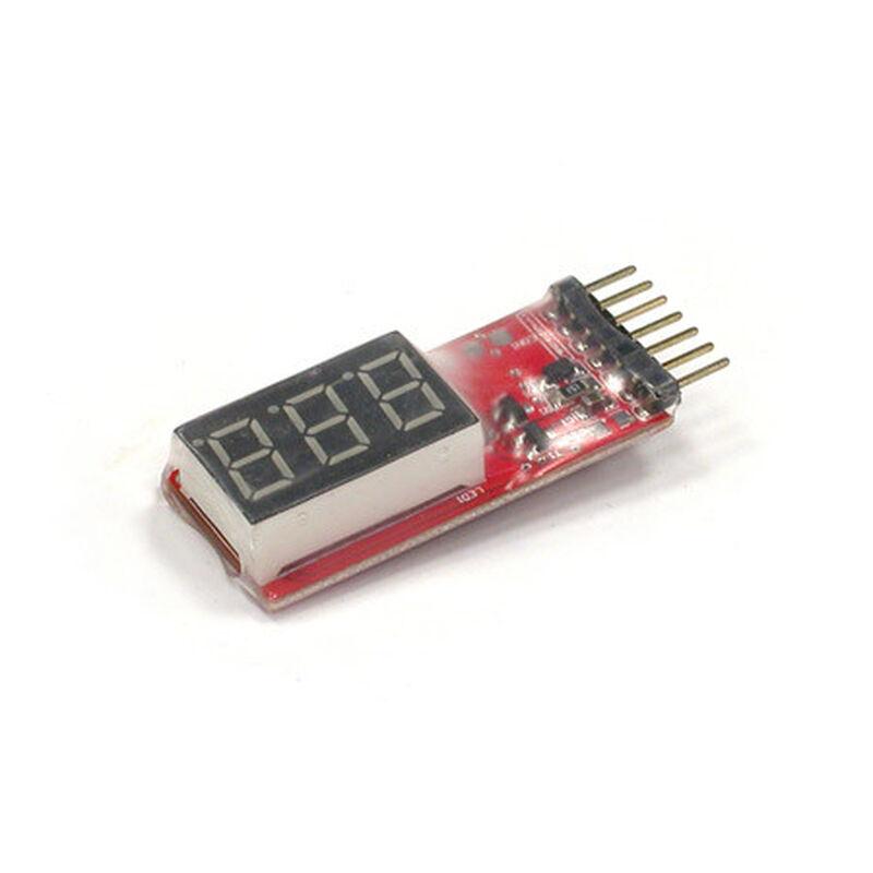 Digital LiPo Voltage Checker