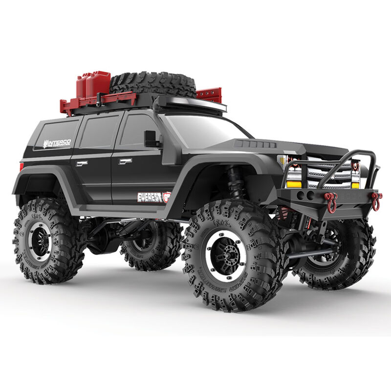 1/10 Everest Gen7 Pro 4WD Crawler Brushed RTR, Black
