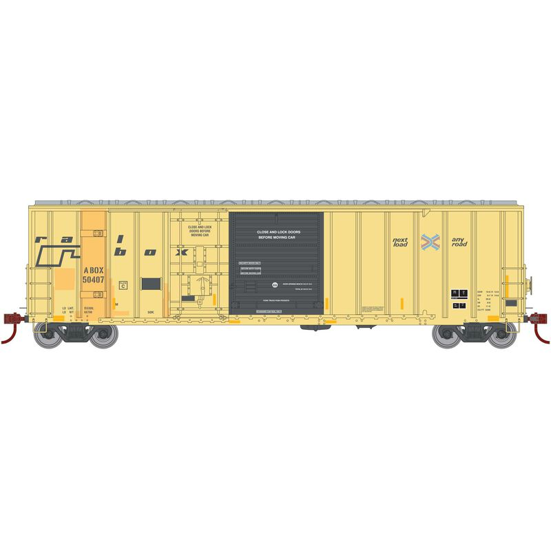 HO RTR 50' FMC Ex-Post Combo Door Box RBOX #50407