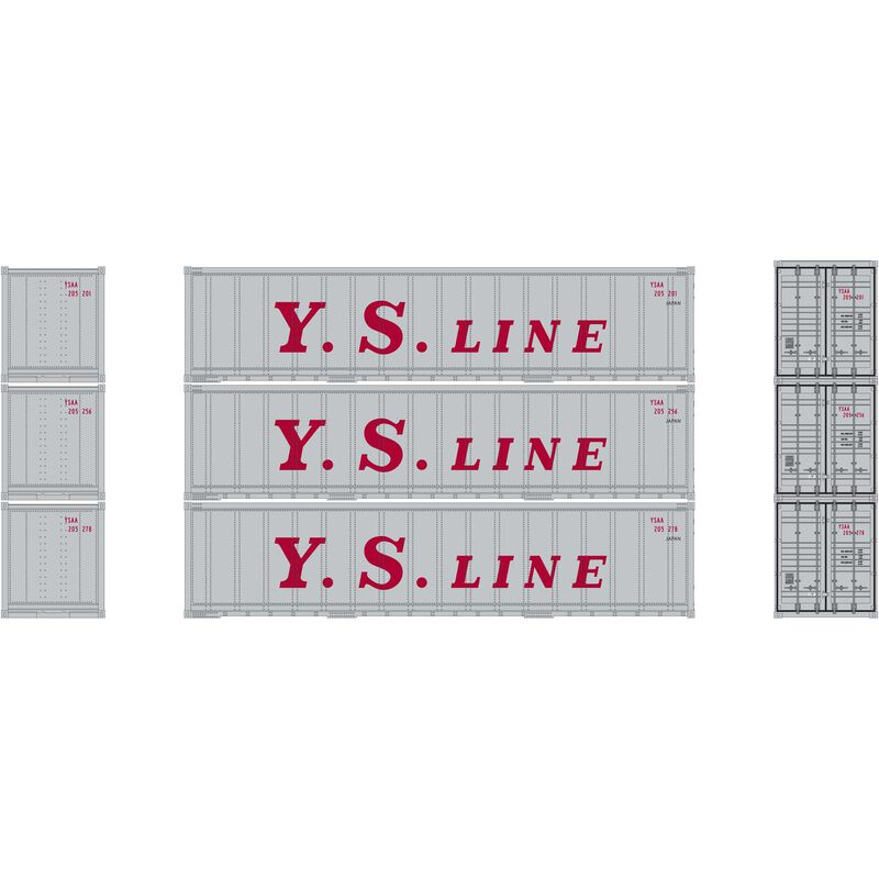 N 40' Smooth Side Container YS Line (3)