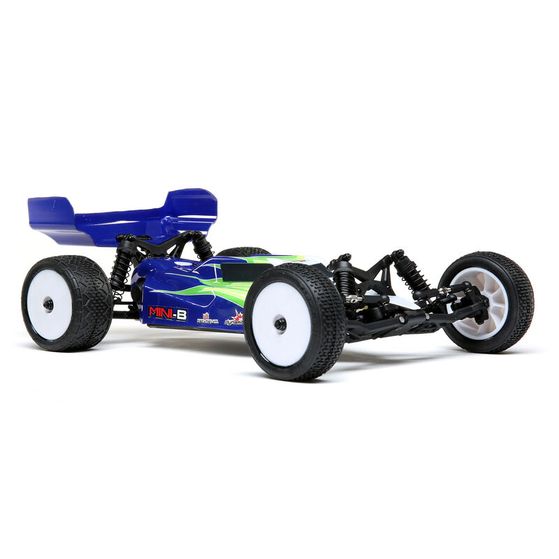 Losi Mini-B 1//16 RTR 2WD Buggy Blue w// Battery /& Charger LOS01016T1 Brand New!!!