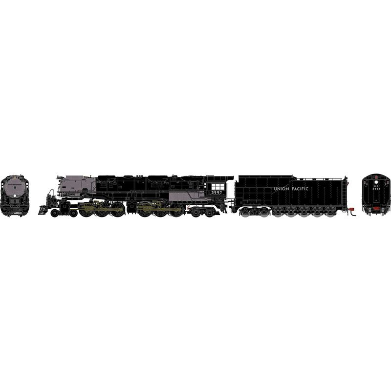 N 4-6-6-4 with DCC & Sound, UP #3997