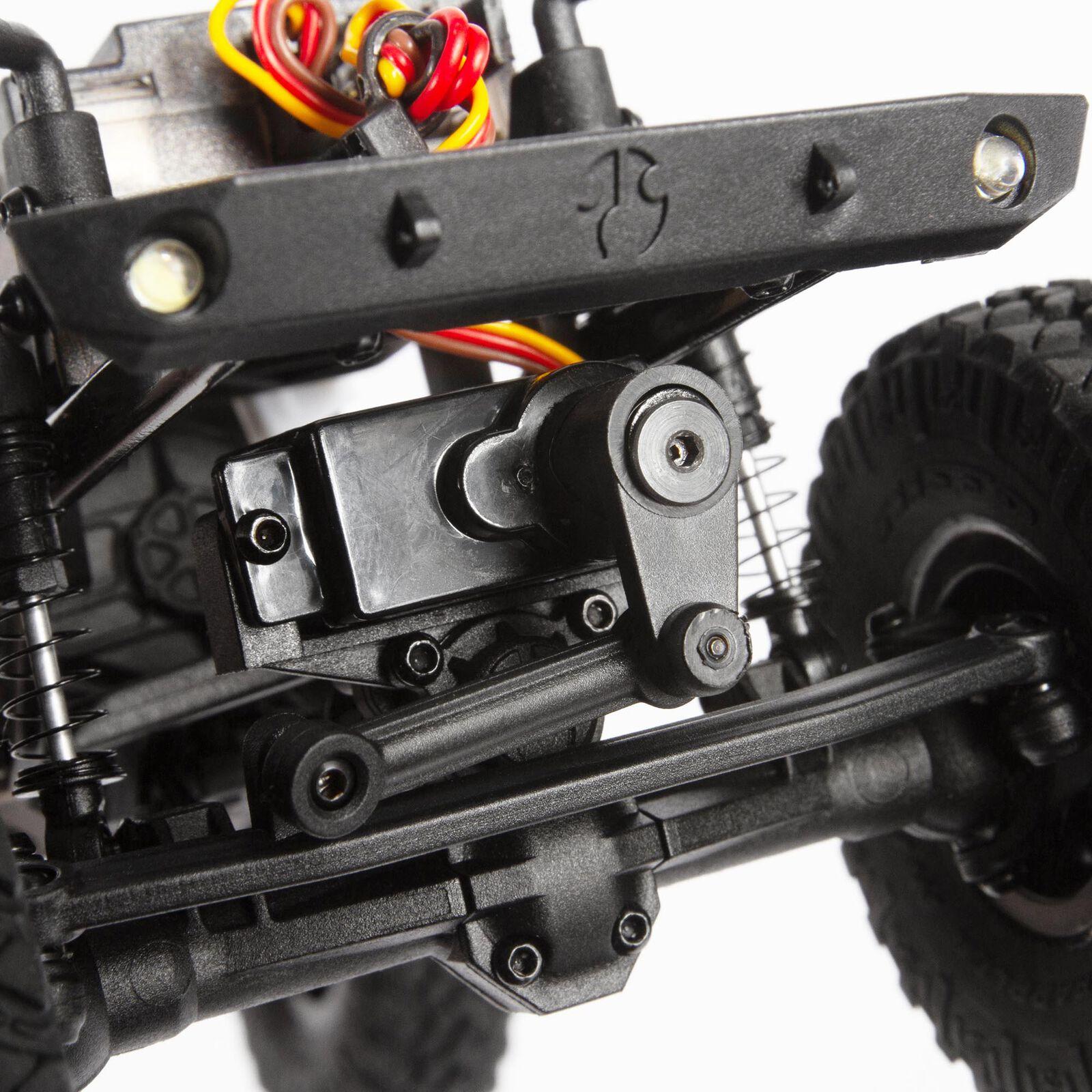 1/24 SCX24 Deadbolt 4WD Rock Crawler Brushed RTR, Red