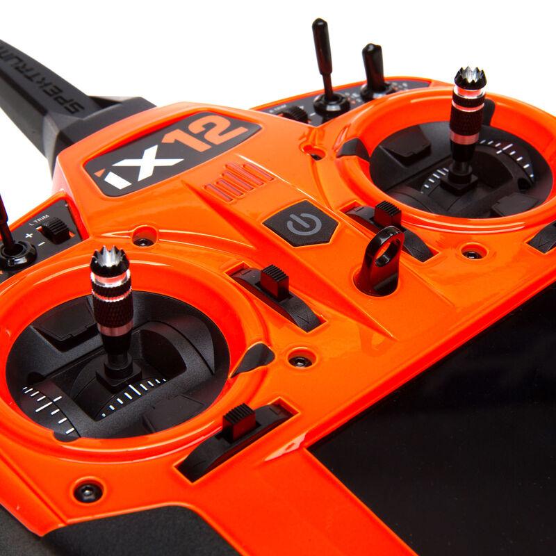 iX12 12-Channel DSMX Transmitter Only, Orange