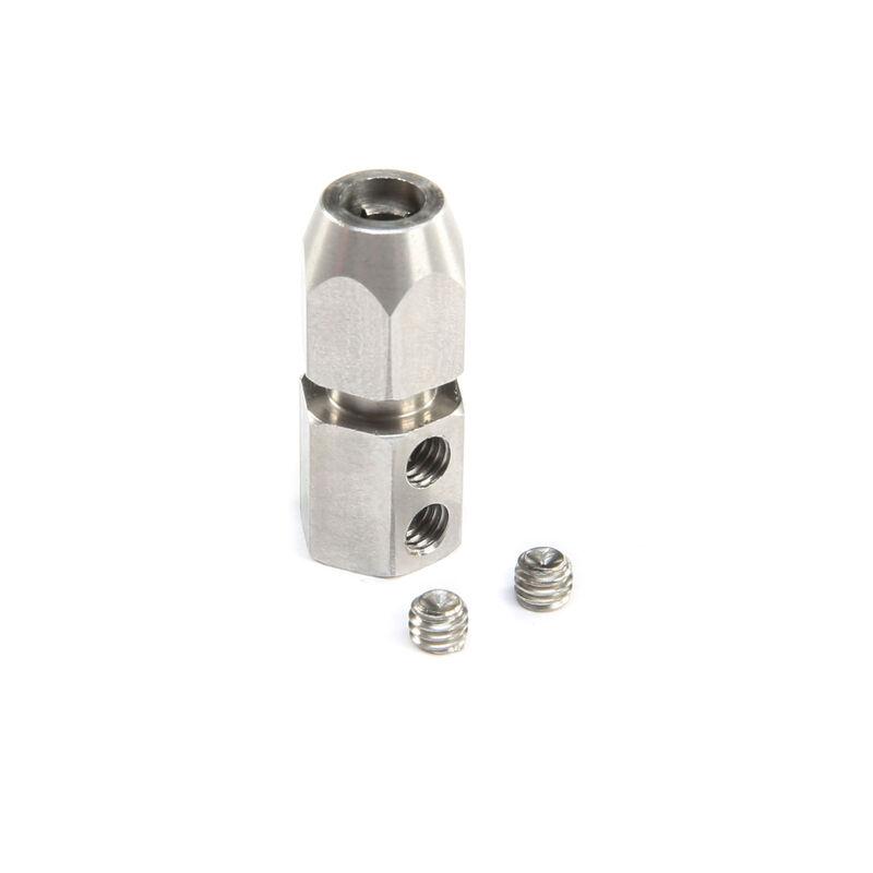 Motor Coupler 5mm (Motor)/4.7mm (Flexshaft)