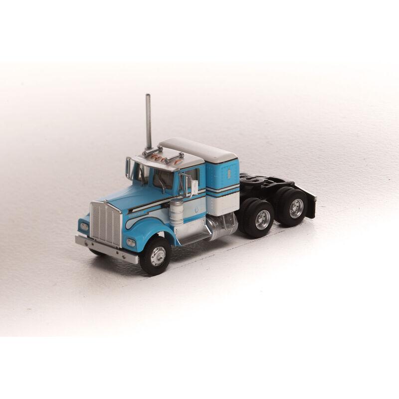 HO RTR Kenworth Tractor, Lt Blue/White