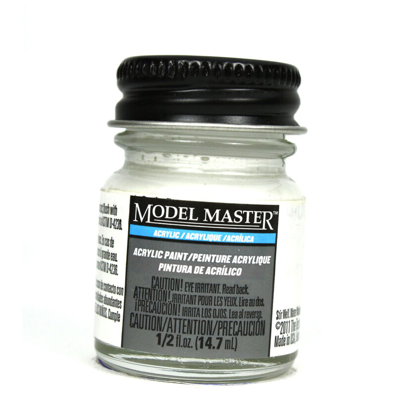 Acryl Semi-Gloss 1/2oz White P