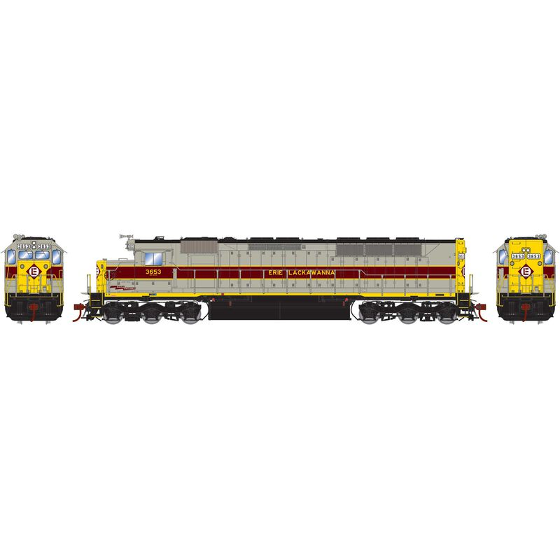 HO SDP45 with DCC & Sound EL #3653