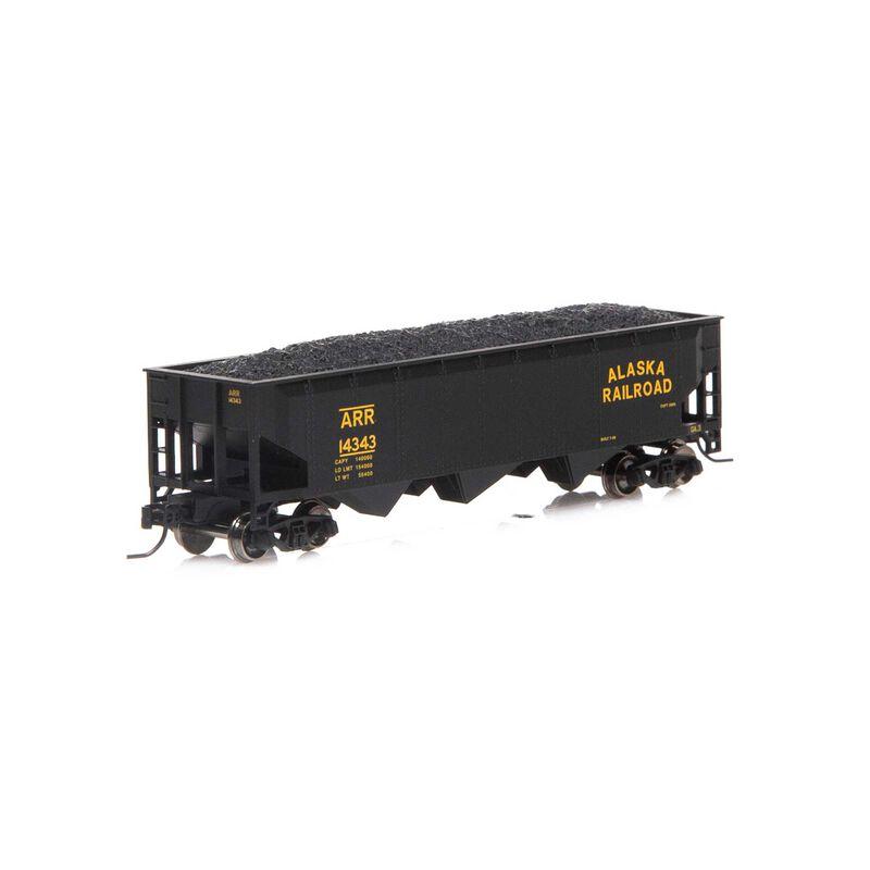 N 40' 3-Bay Offset Hopper with Load ARR #14343