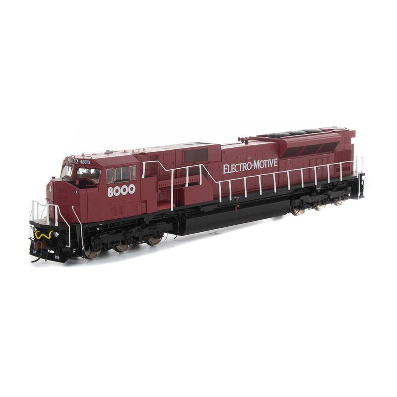 HO SD80MAC EMD #8000