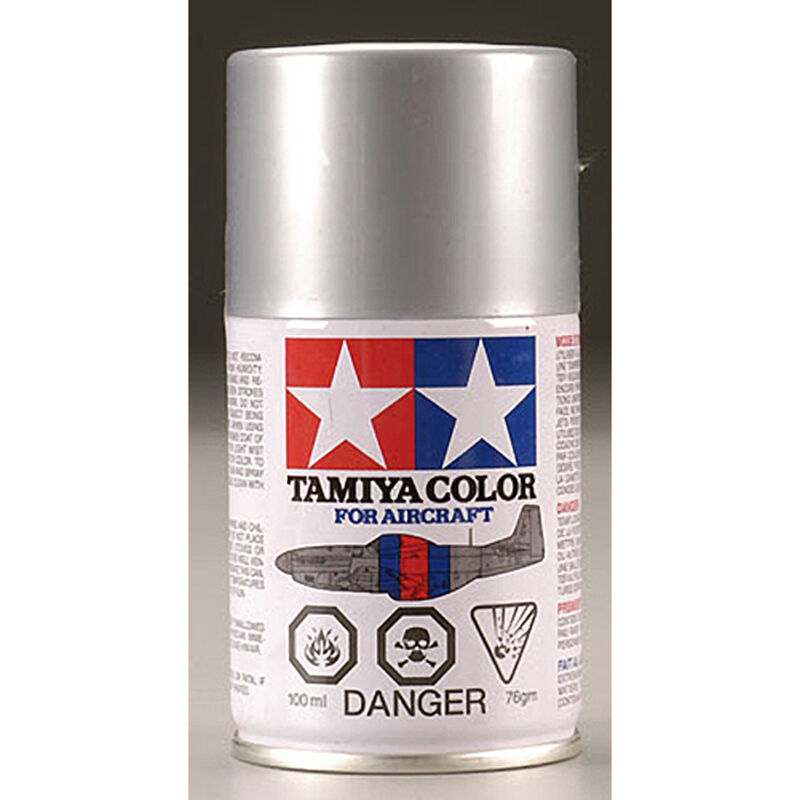 Aircraft Spray Paint AS-12 Bare Metal Silver 100ml