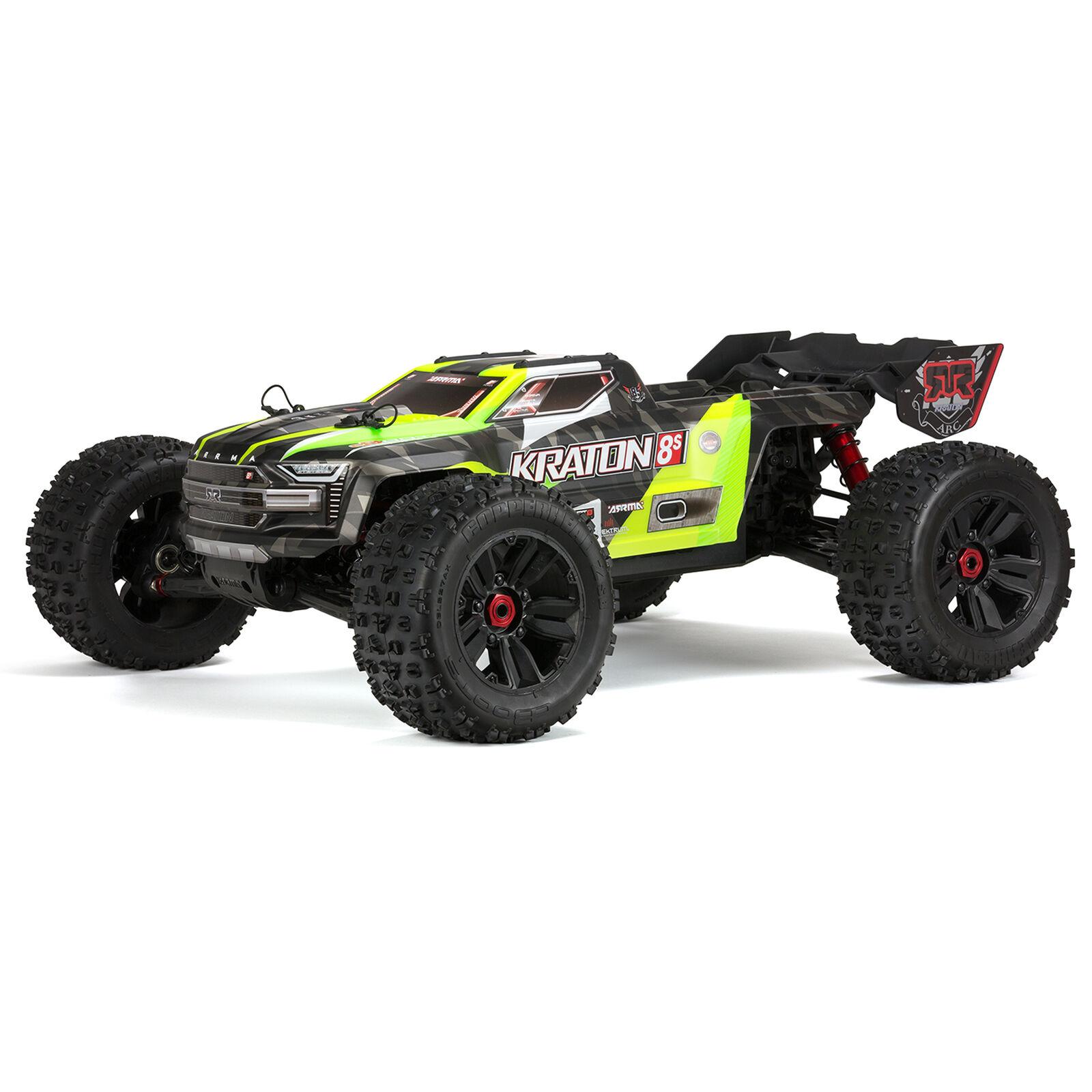 1/5 KRATON 4X4 8S BLX Brushless Speed Monster Truck RTR, Green