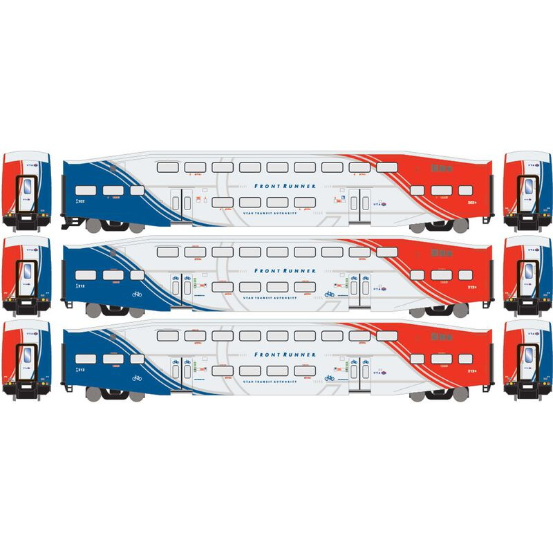 HO RTR Bombardier Coach, UTAX/Bikes (3)