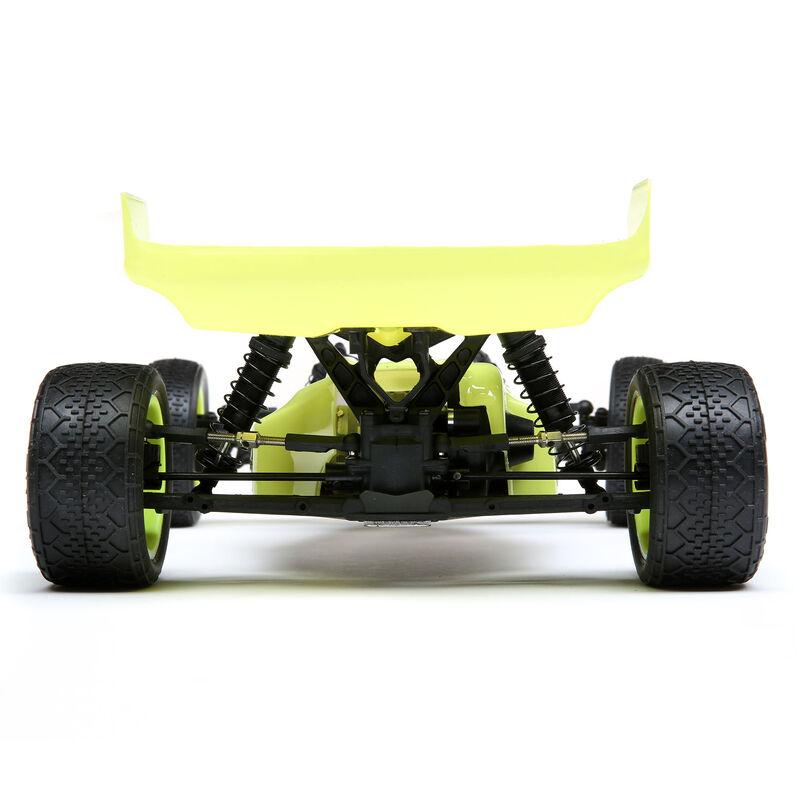1/16 Mini-B Brushed RTR 2WD Buggy, Yellow/White