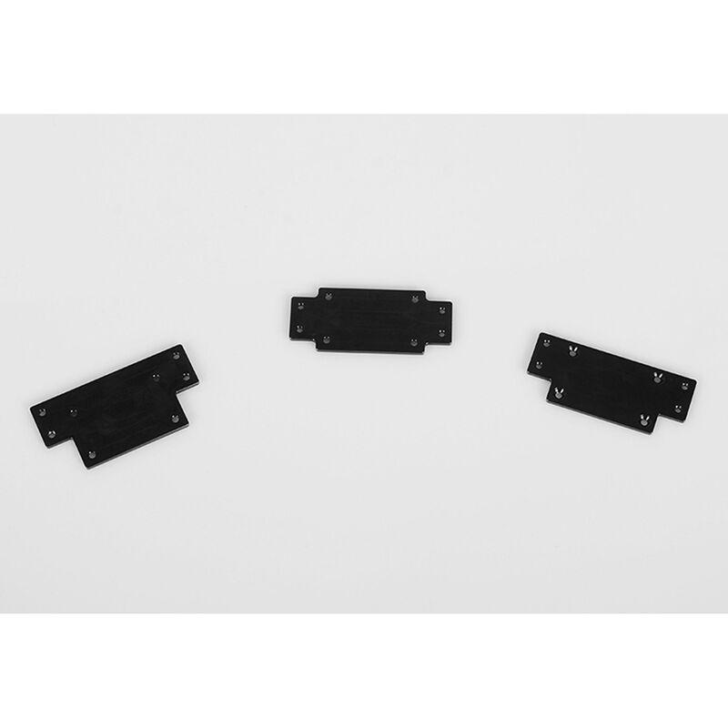 1/10 Warn 9.5cti Winch CNC Mounting Plates