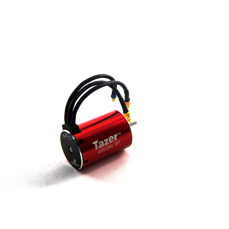 Tazer 1/10 6-Pole Brushless Motor, 4000Kv V2