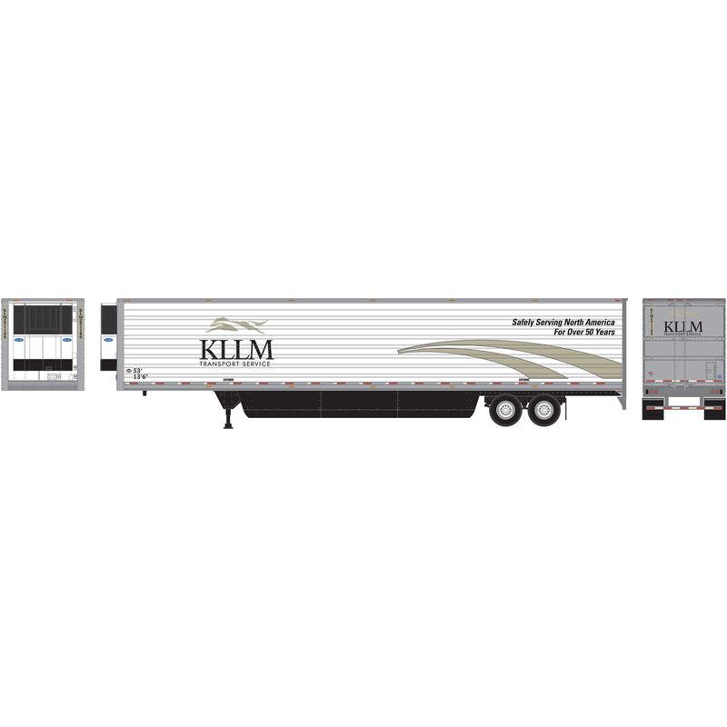 HO RTR 53' Reefer Trailer KLLM Intermodal #91180