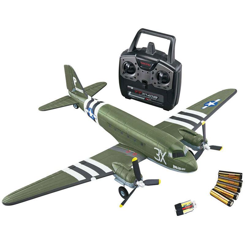 """Micro Douglas C-47 Skytrain EP RTF, 23"""""""