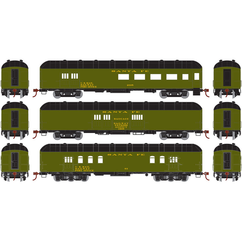 HO RTR Arch Roof Set SF (3)