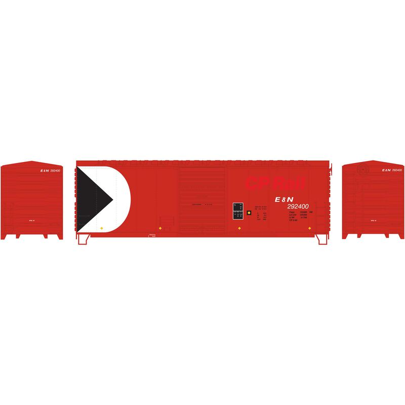 HO RTR 40' Modernized Box E&N ex CP #292400