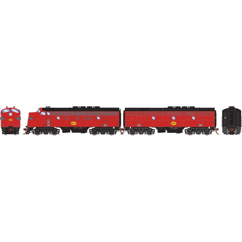 HO F3 A/B Phase II MKT Freight #204A/#204B