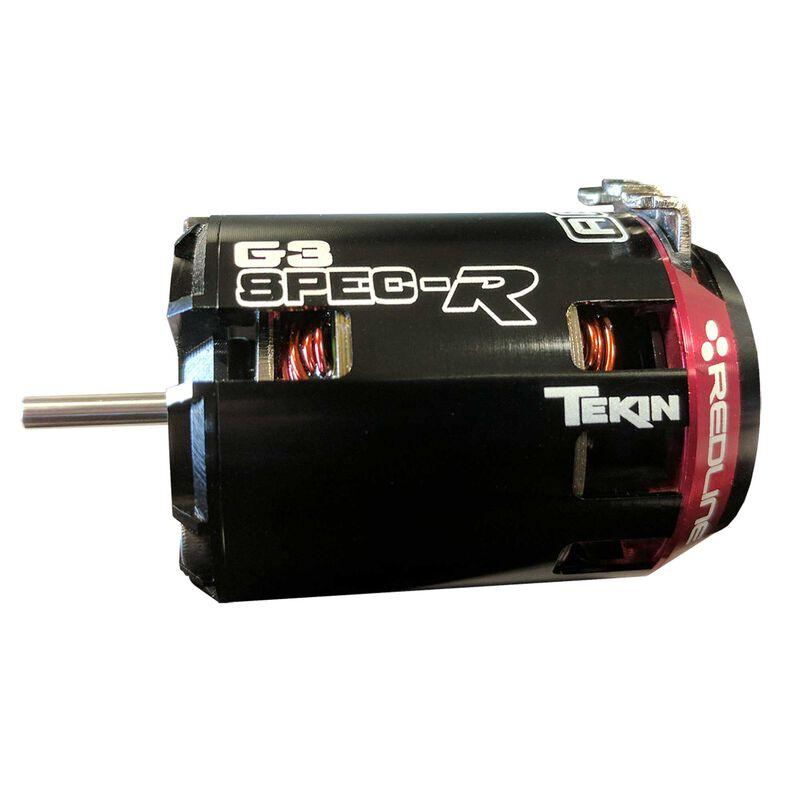 Redline Gen3 SPEC-R Sensored Brushless Motor, 17.5T