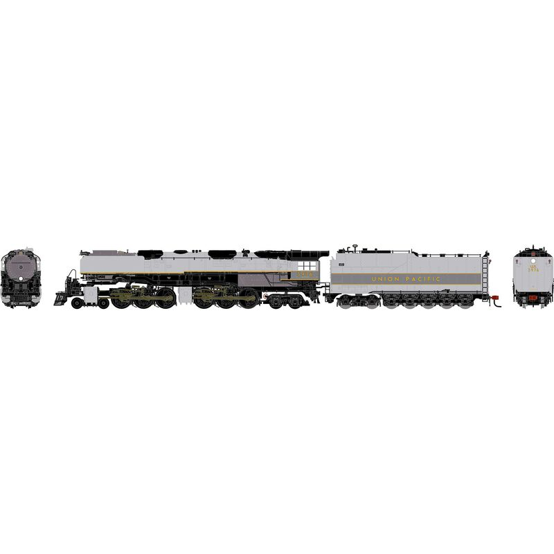 HO 4-6-6-4 with DCC & Sound, UP #3976 (TTG)