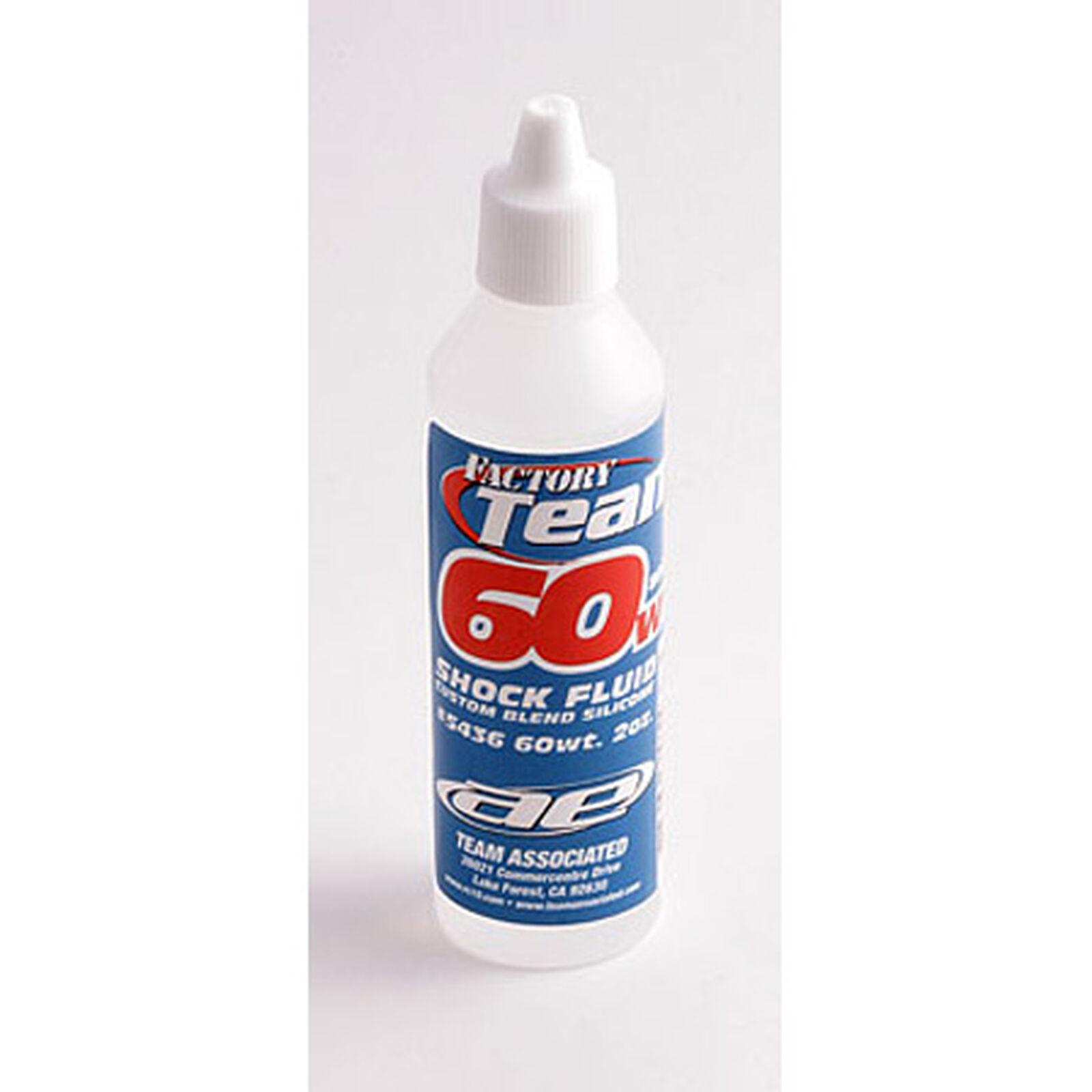 Factory Team Silicone Shock Fluid, 60Wt (800 cSt) 2oz