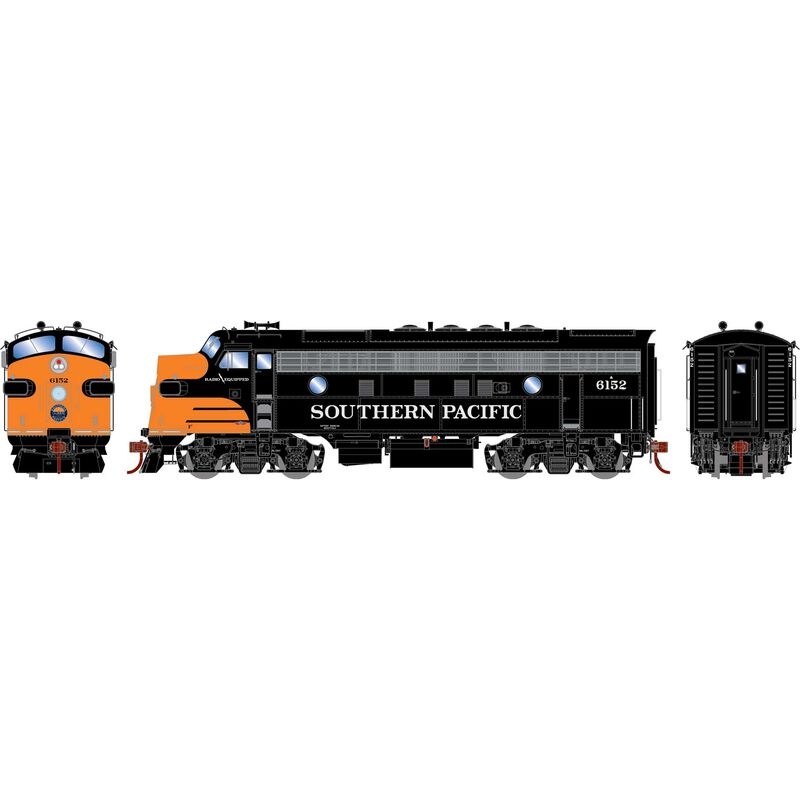 HO F3A with DCC & Sound SP Freight #6152
