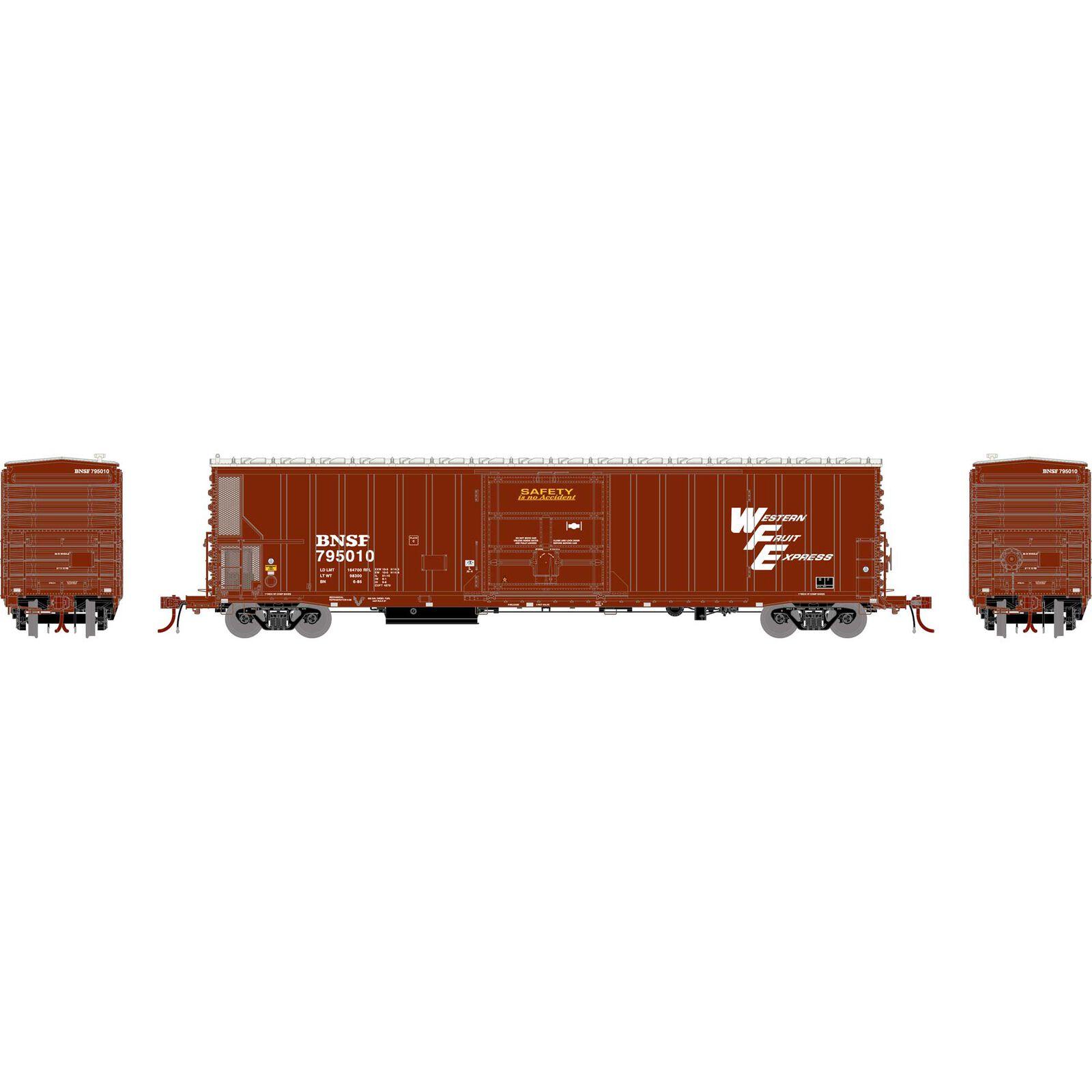 N FGE 57' Mechanical Reefer, BNSF #795010