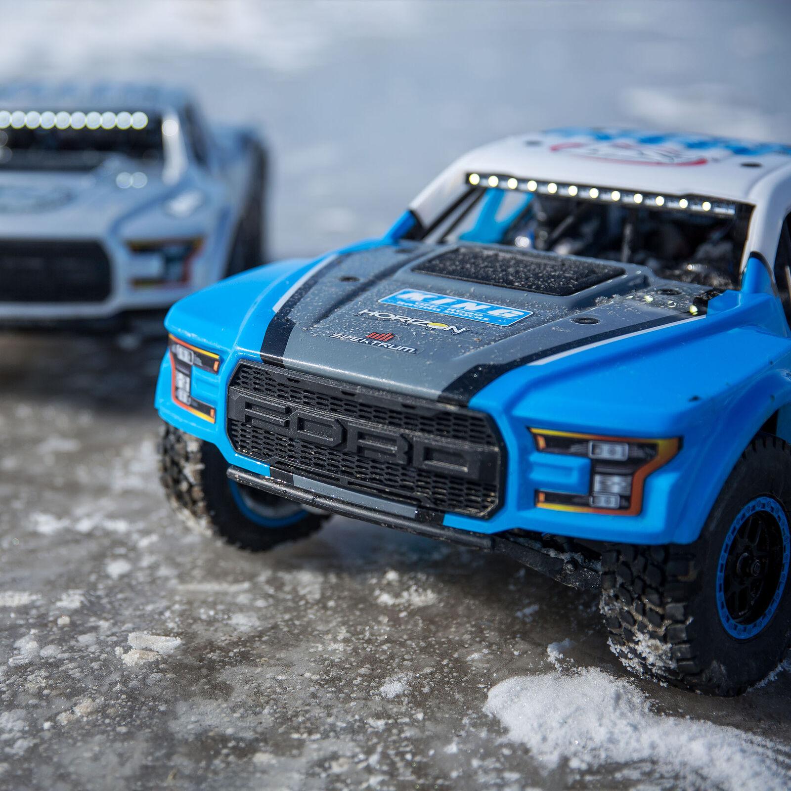 1/10 Ford Raptor Baja Rey 4WD Desert Truck Brushless RTR, King Shocks