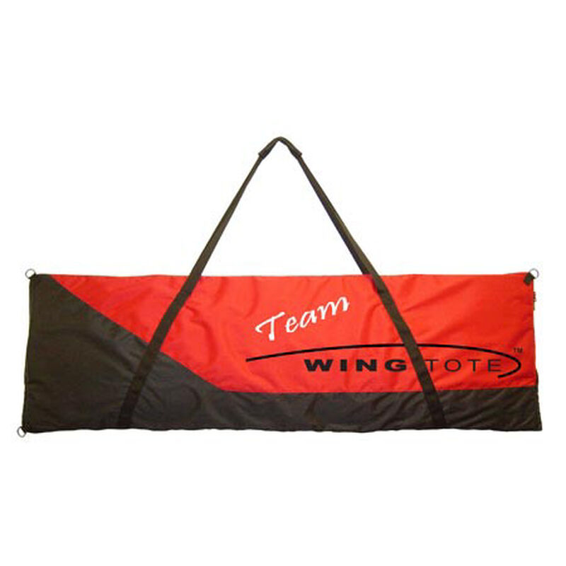 "44"" Single Wing/Tail Bag, Red/Black"