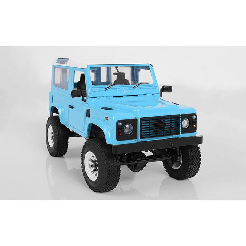 1/18 Gelande II 4WD Truck Brushed RTR, D90 Body, Blue