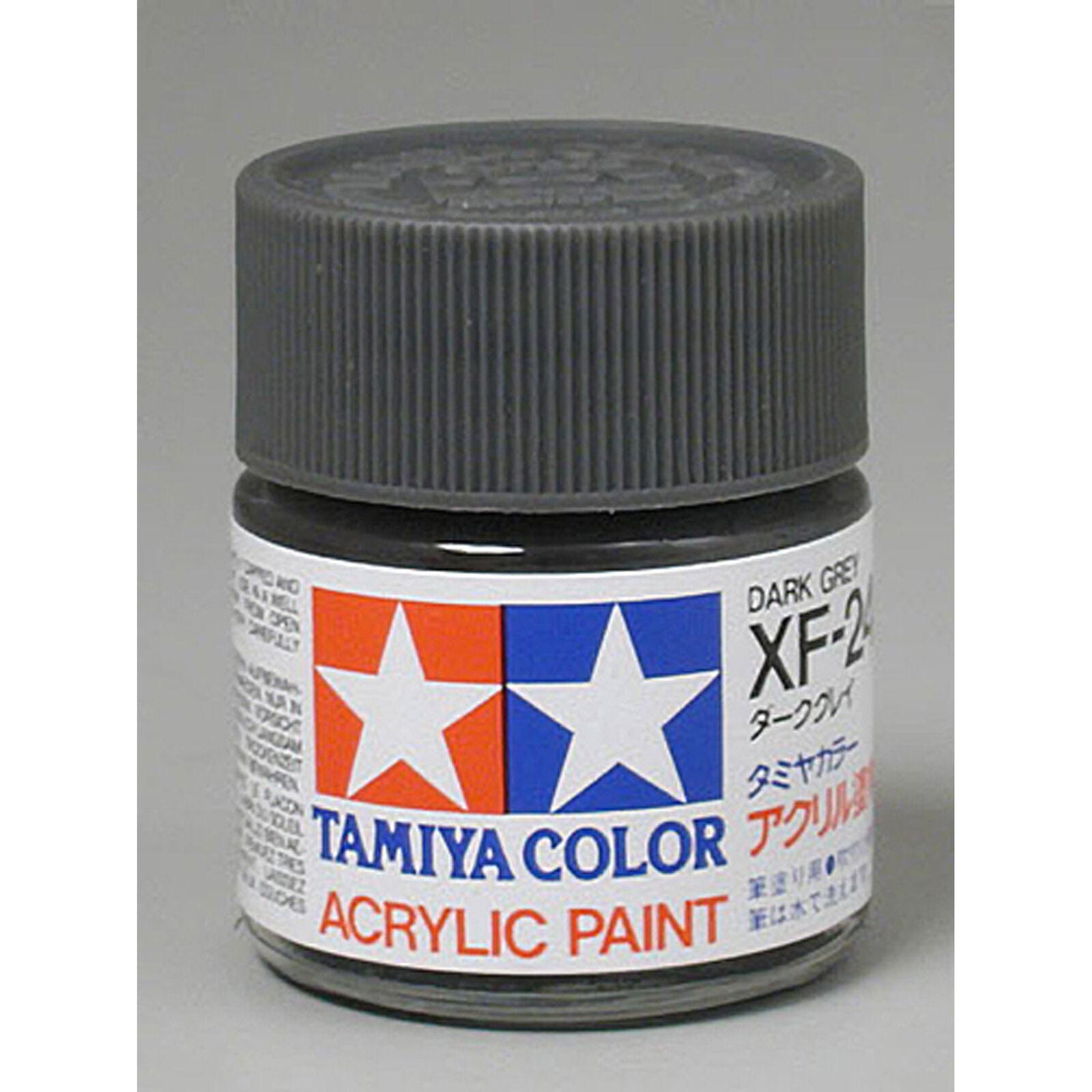 Acrylic XF24, Flat Dark Gray