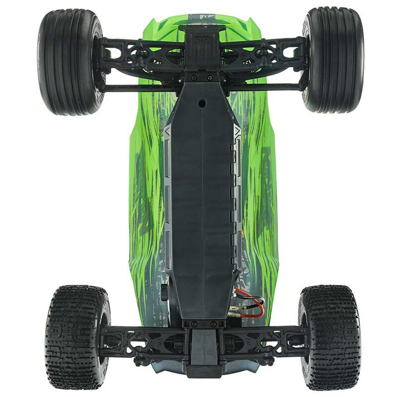 1/10 FAZON VOLTAGE 2WD Brushed Mega Truck RTR, Green/Black