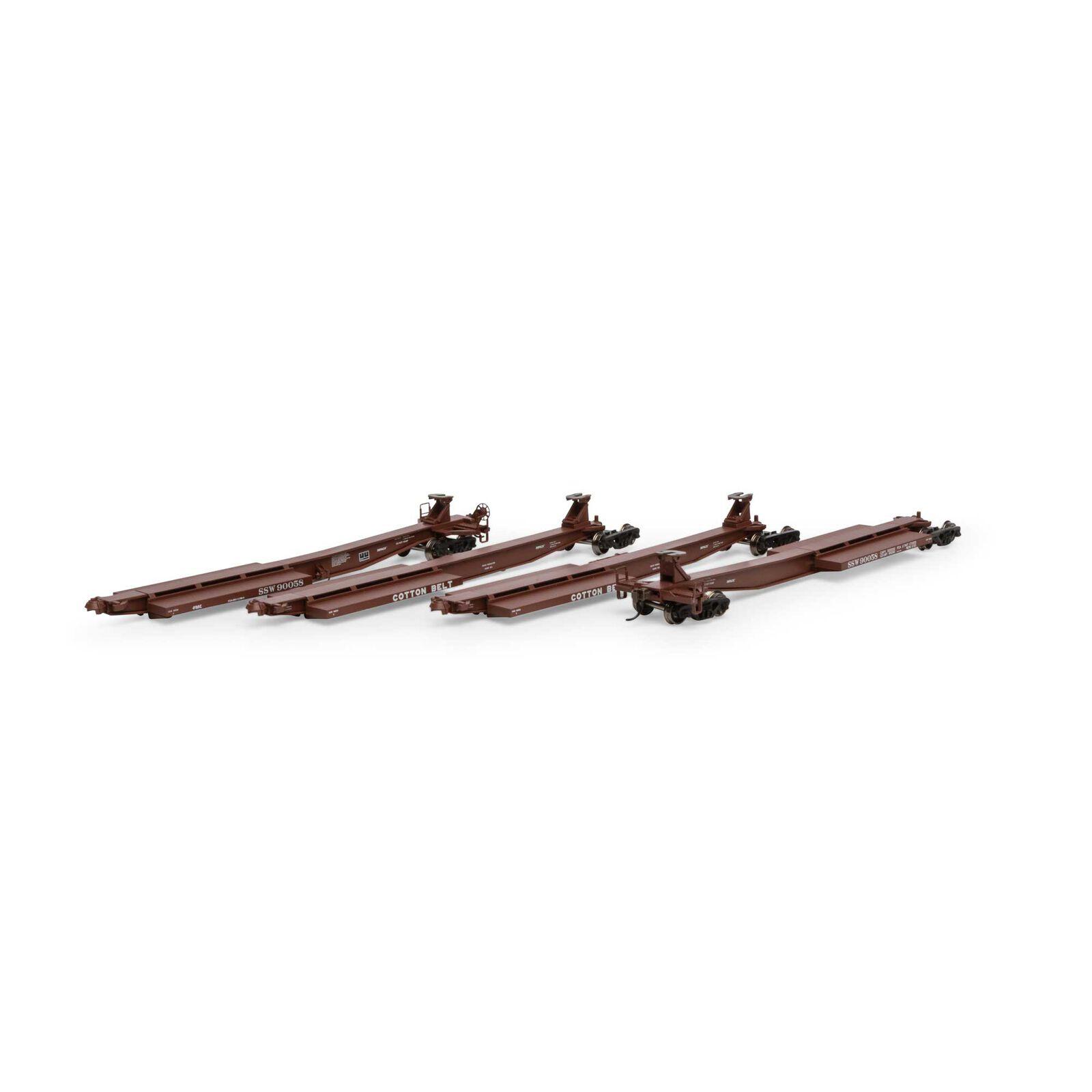 HO RTR 57' Trinity Spine Car, SSW #90058 (4)