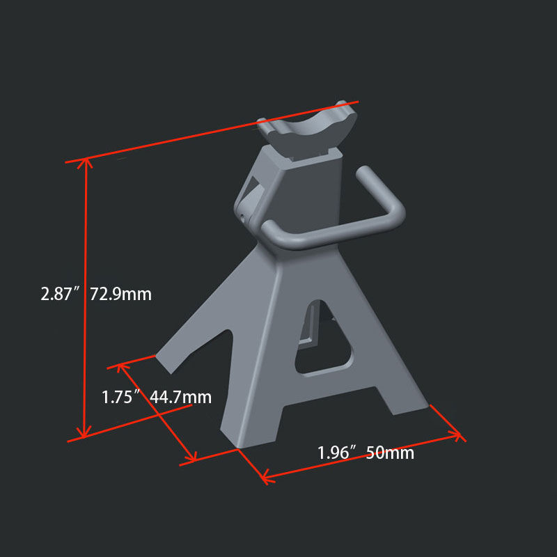Chubby 6 TON 1/10 Scale Miniature Jack Stands, Pair