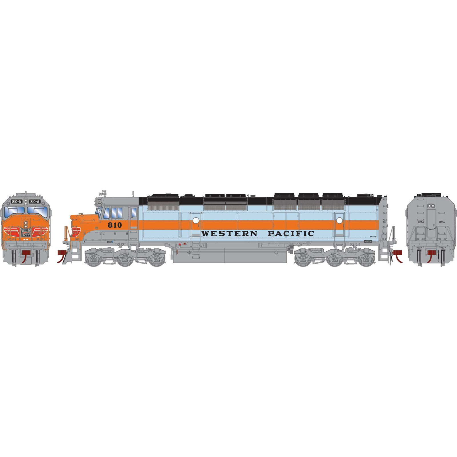 HO FP45 with DCC & Sound, WP #810