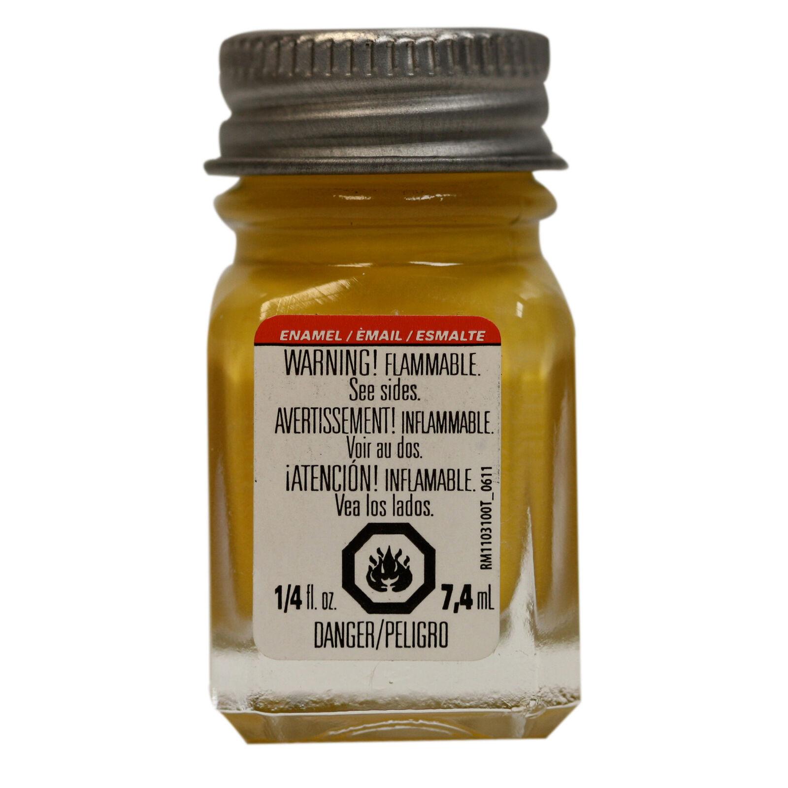 Enamel 1/4 oz Yellow