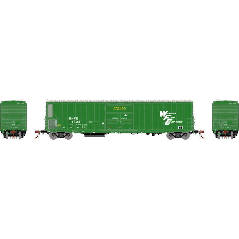N FGE 57' Mechanical Reefer, BNFE/Green #11828
