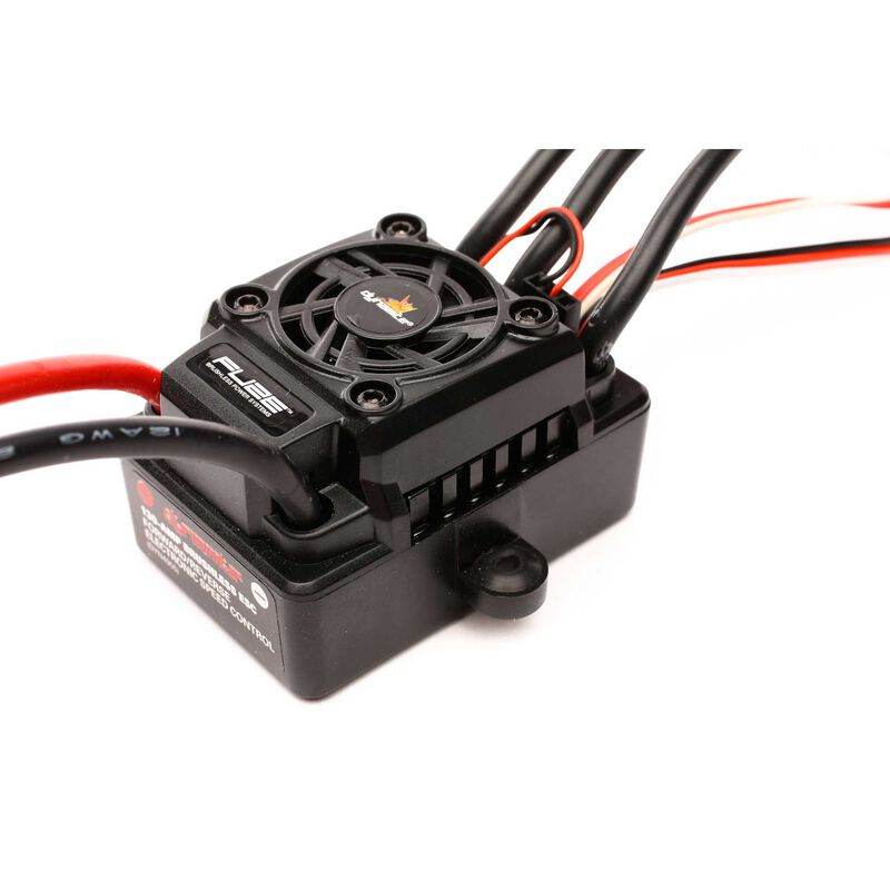Fuze 130A Sensorless Brushless Waterproof ESC: 4WD SCT 1/8