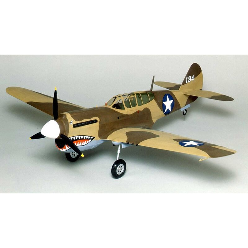 Curtiss P-40 Warhawk Laser Cut, 28""