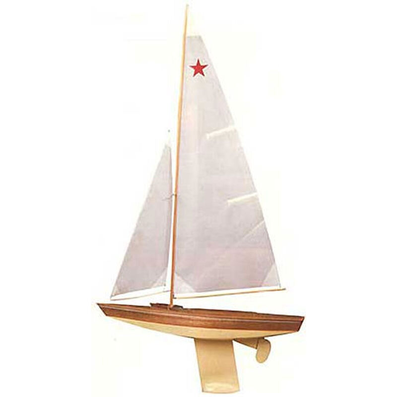 1911 Star Class Sailboat Kit, 30""