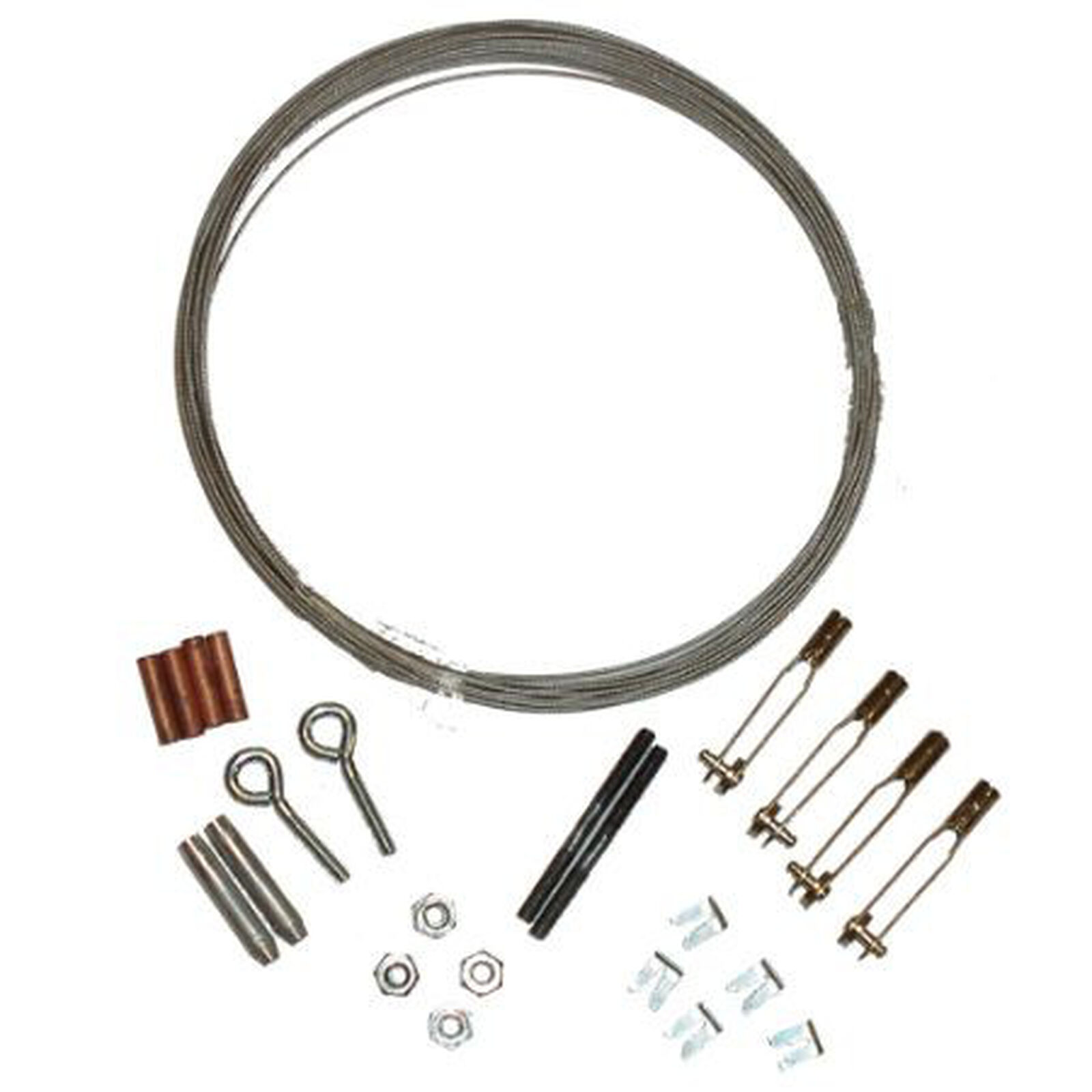 Pull Cable Kit with Turnbuckles,15'