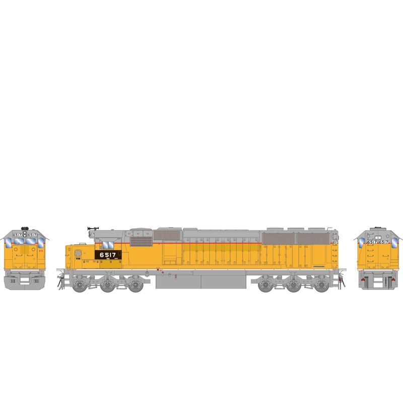 HO RTR SD60 w DCC & Sound NS #6517
