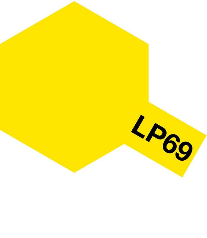 Lacquer Paint, LP-69 Clear Yellow, 10 mL