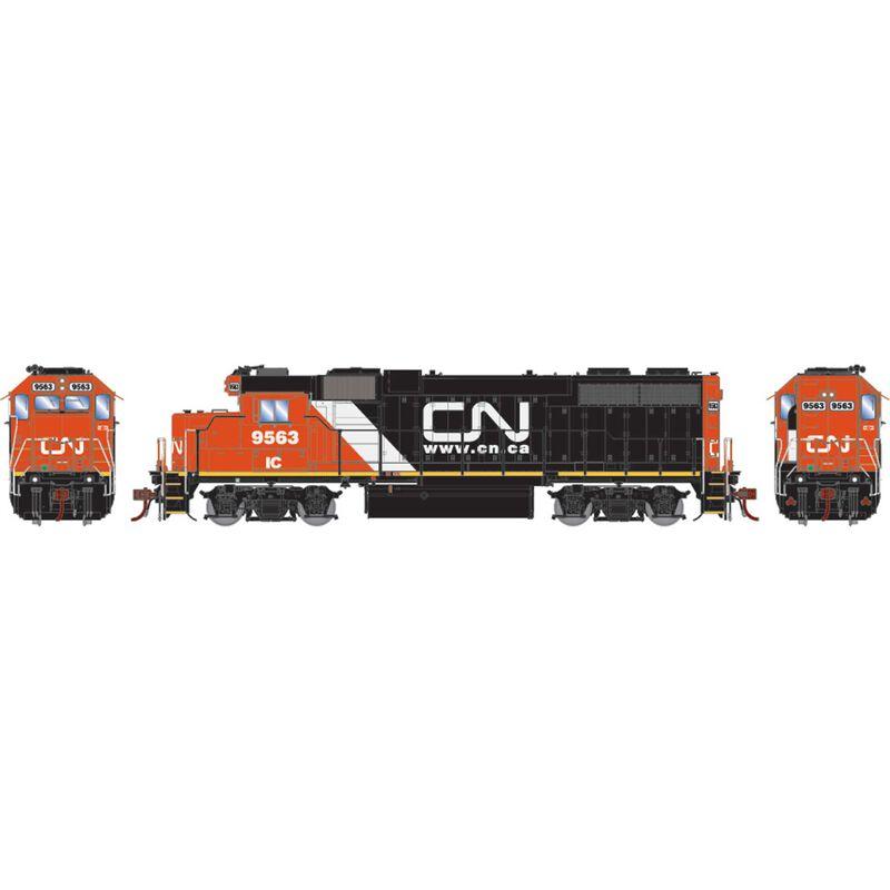 HO GP38-2 CN IC with Website Logo #9563