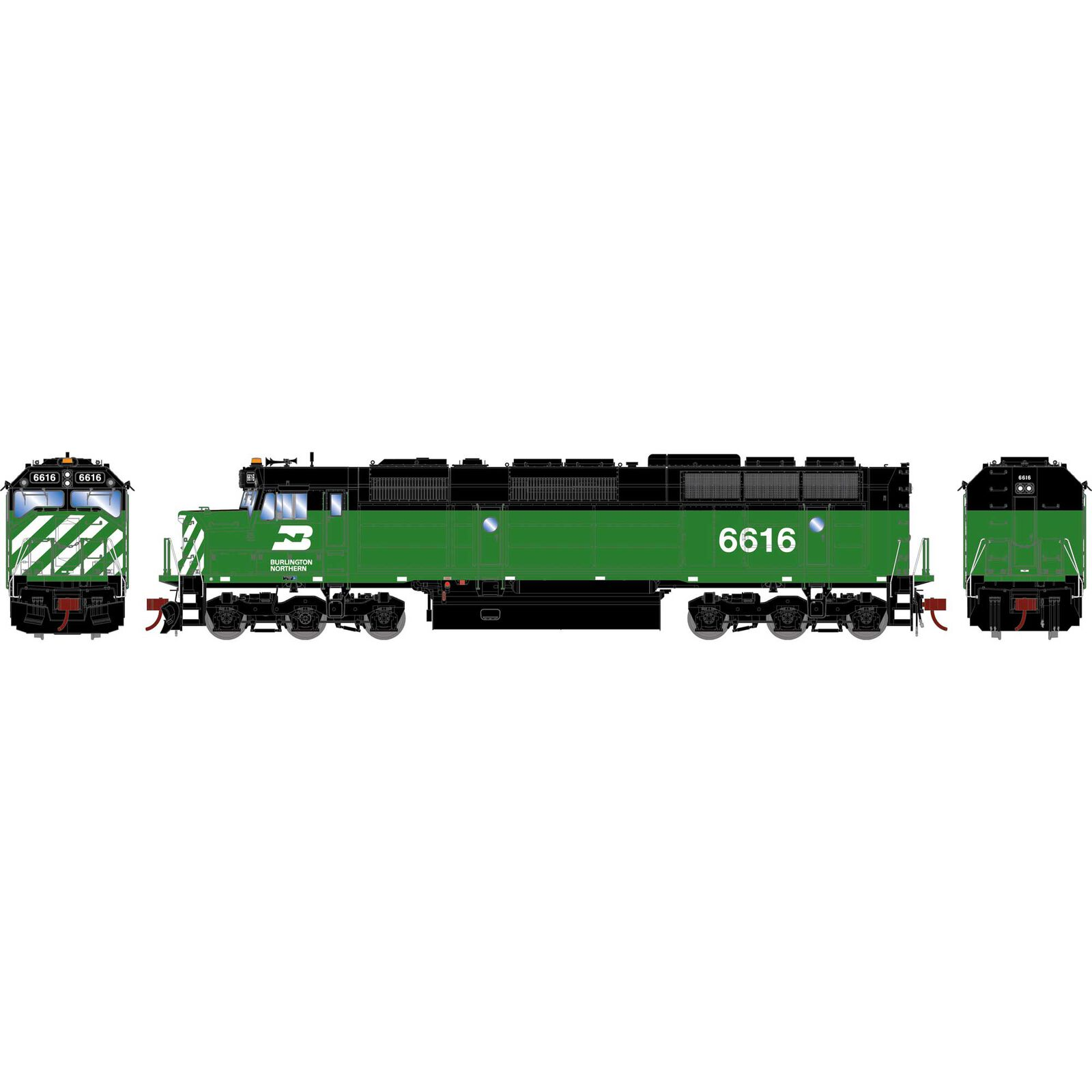 HO F45 with DCC & Sound, BN #6616