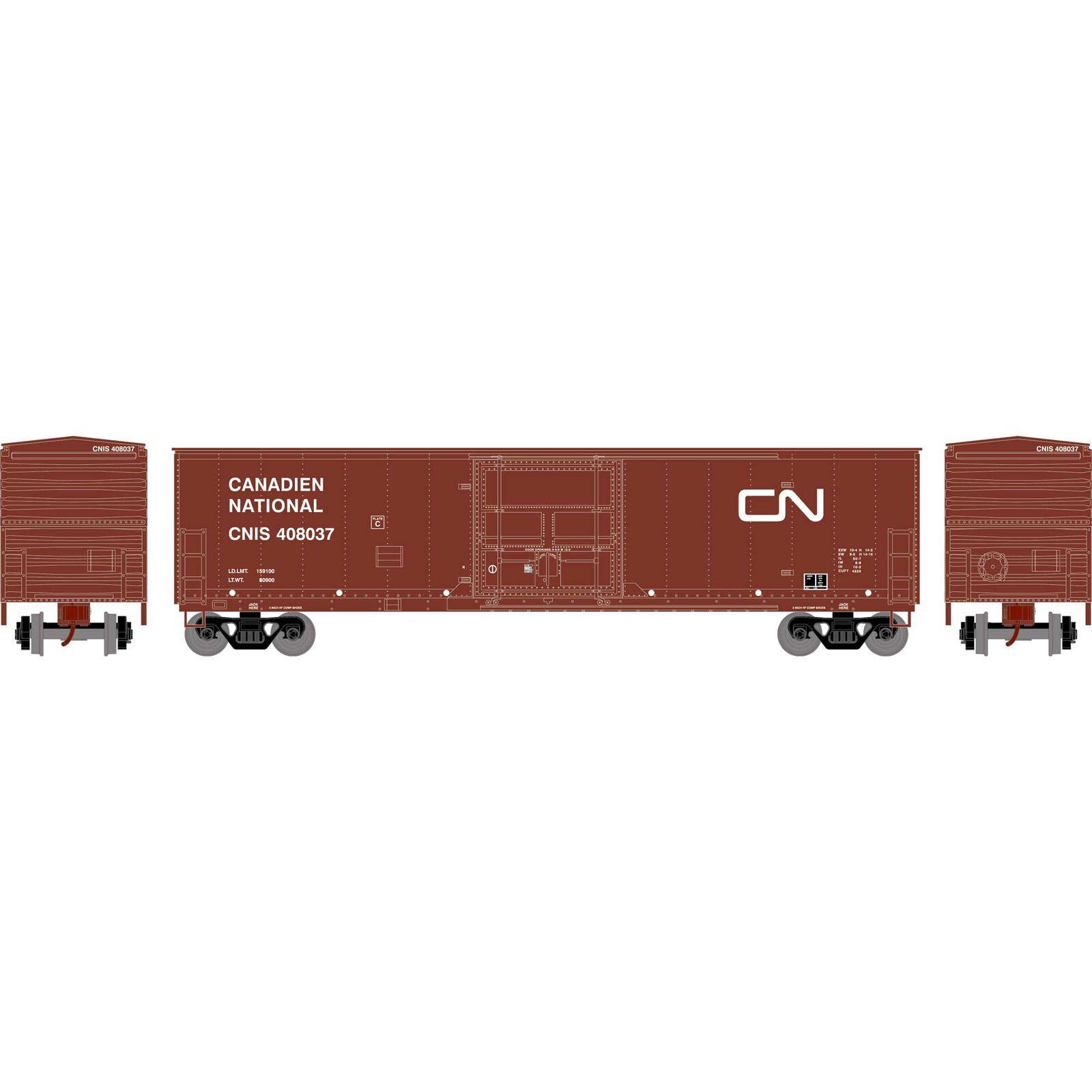 HO RTR 50' Superior Plug Door Box, CN #408037